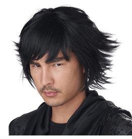 California Costume Cosplay Wig Black