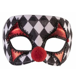 Forum Clown Masquerade Mask
