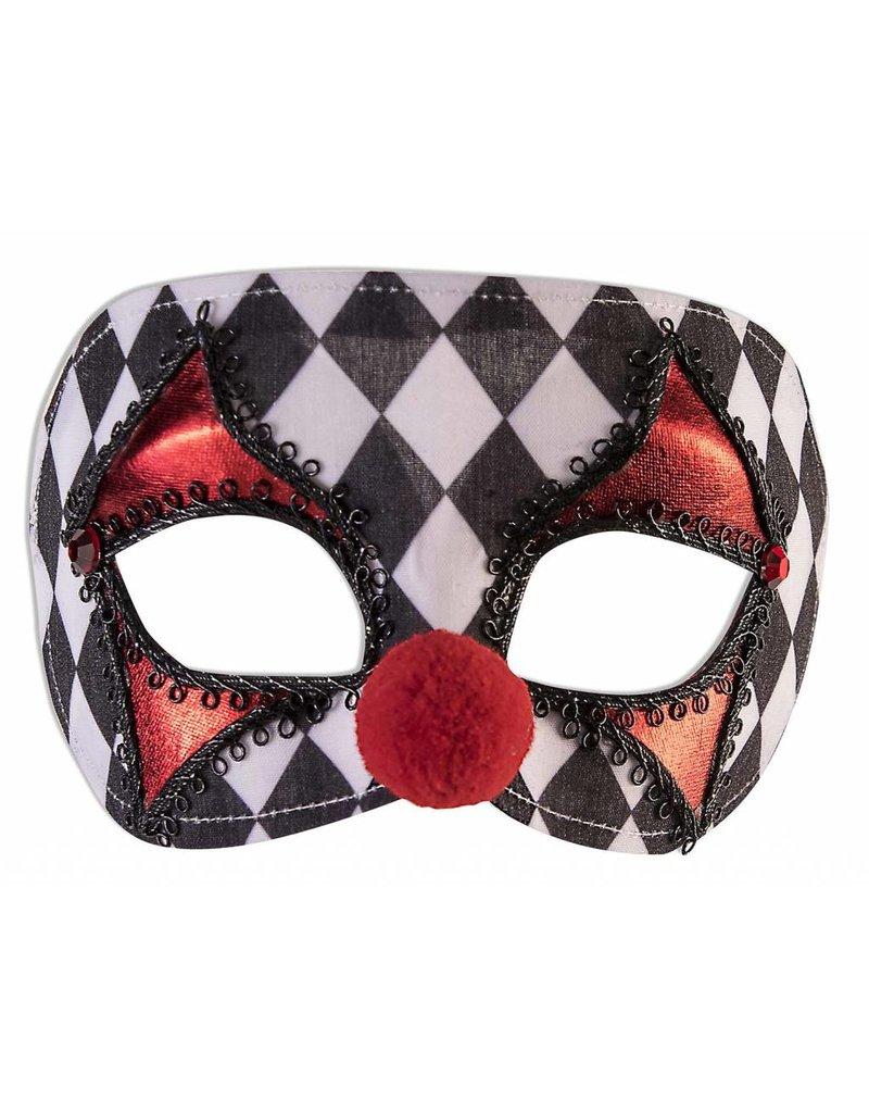 Forum Clown Masquerade Mask