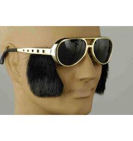 Forum Rock n Roll Glasses w/Burns