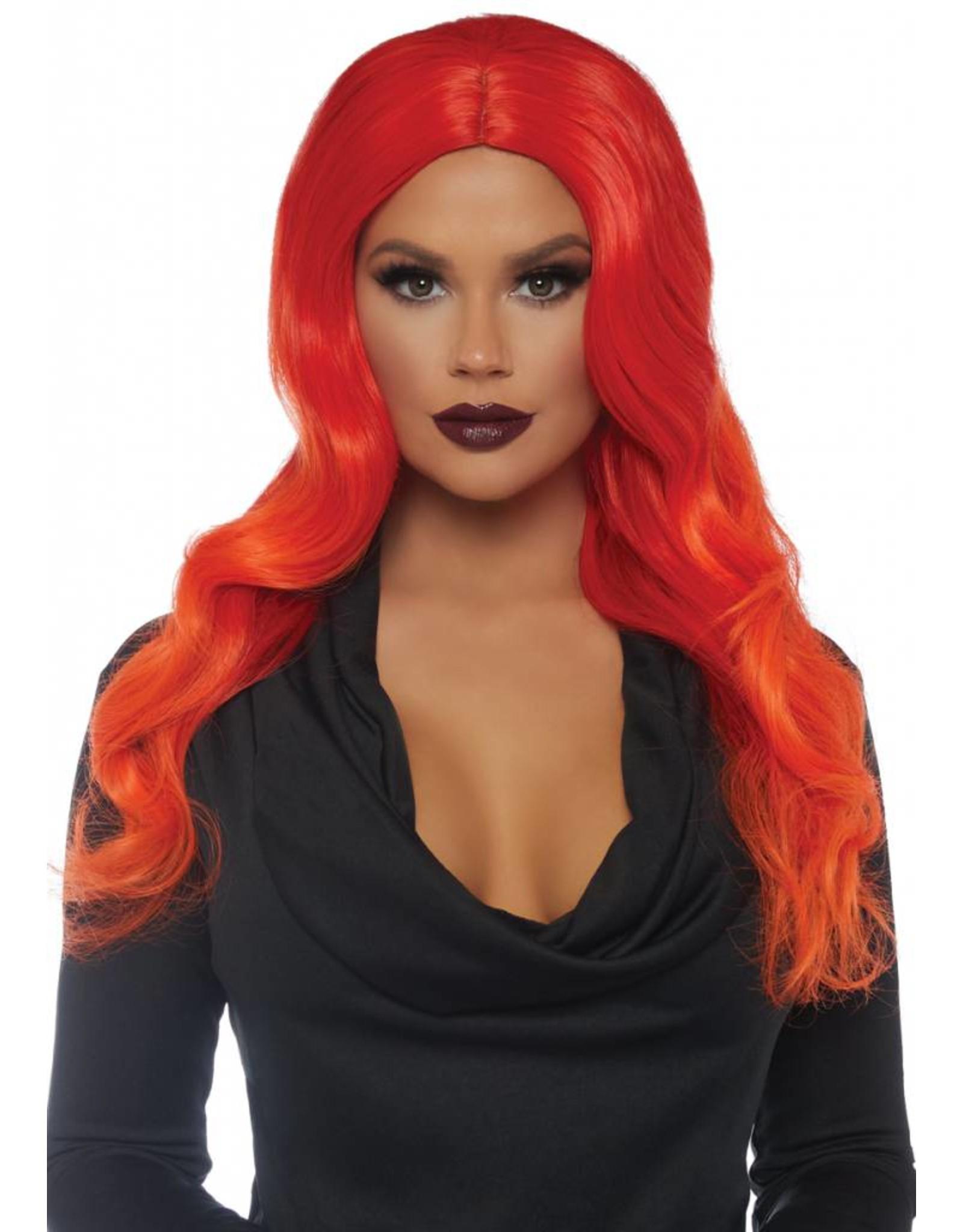 Leg Avenue Ombre Wig Orange