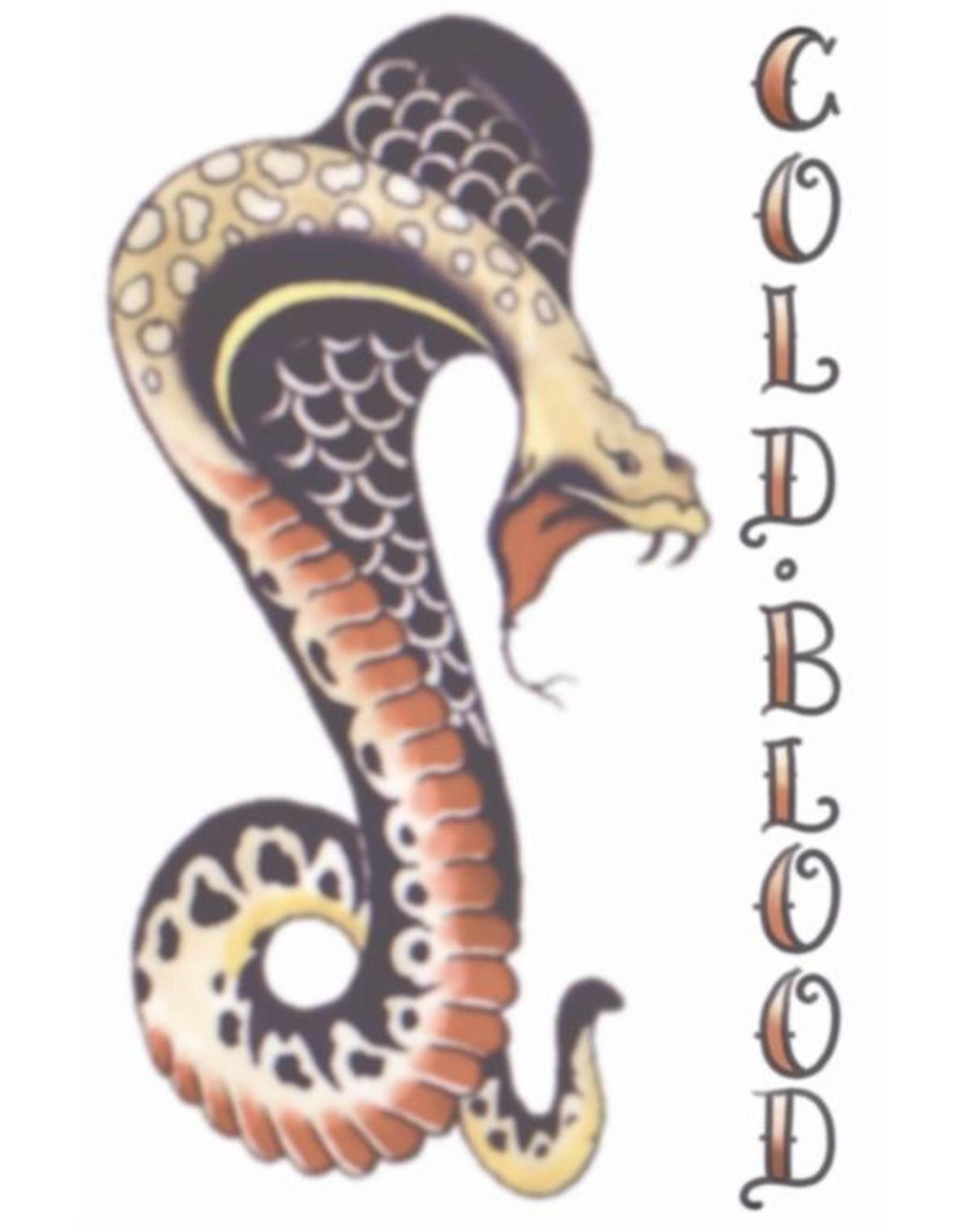 Tinsley Transfers 1940 Cobra Tattoo