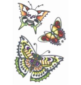 Tinsley Transfers 1960's Butterflies Tattoo