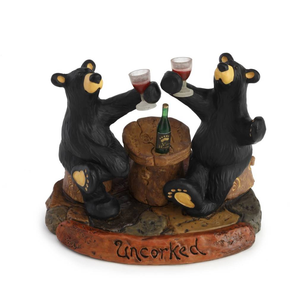 Uncorked Bears Figurine 80179