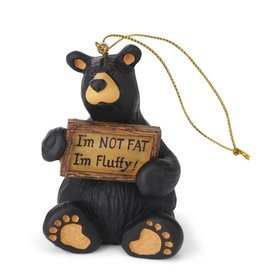 I'm Fluffy Bear Ornament