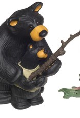 """The Lesson"" Bears Fishing Figurine 50110"