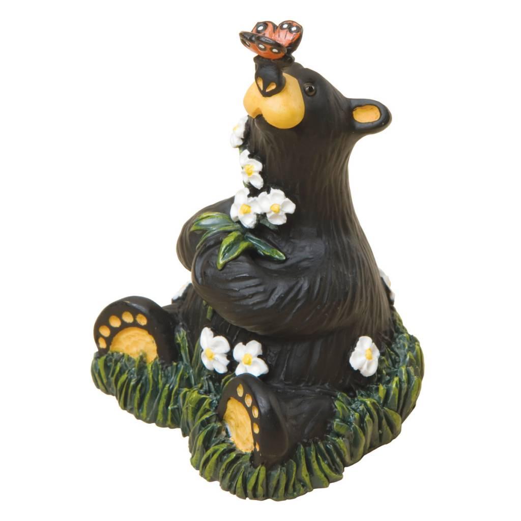 """""""Rachel"""" Bear W/Butterfly Figurine 50135"""