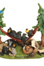 Forest Nap Bears/Forest Animals Figurine 50911