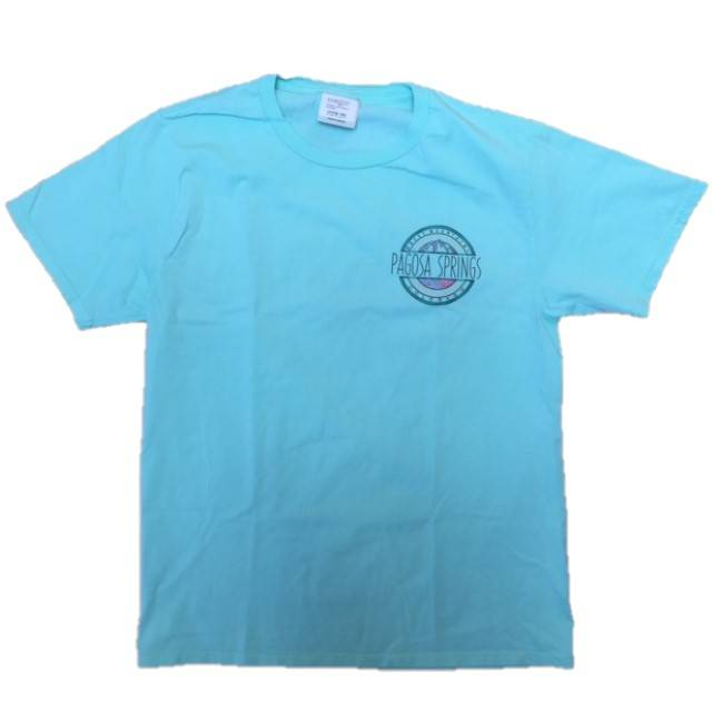 Yorkie Mountains MINT Ringspun S/S Tee