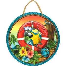 Hanging Sign - Margaritaville