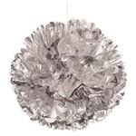 """Puff Ball - Silver- 16"""""""