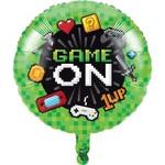 "Foil Balloon- Game On 18"""