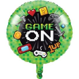 Foil Balloon- Game On 18""