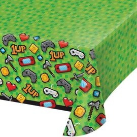 Table Cover- Gaming Party- Plastic