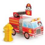 Centerpiece- Flaming Fire Truck