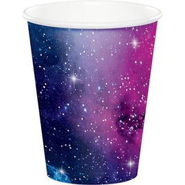 Cups- Galaxy Party- Paper- 8pk-9oz