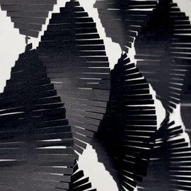Fringe Garland- Black