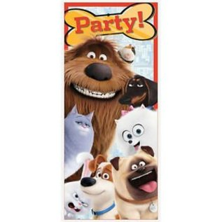 Party Door Poster-Secret Life of Pets-2.25ft x 5ft