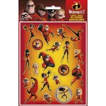 Stickers-Incredibles 2- 4pk