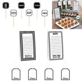 Buffet Decorating Kit-Eat and Enjoy-12pcs