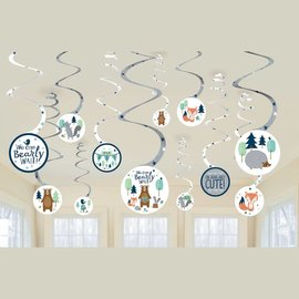 Swirl Decorations-Bear-ly Wait- 12pcs