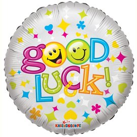 """Foil Balloon - Good Luck 18"""""""