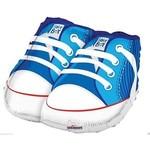 "Foil Balloon - Baby Boy Sneakers 18"""