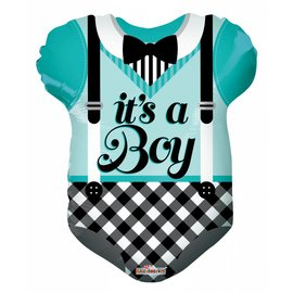 Foil Balloon - Its A Boy/Outfit 18""