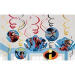 Swirl Decorations-Incredibles 2-12pcs