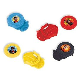 Disc Shooters-Incredibles 2-12 pcs