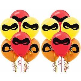 Balloons Latex Incredibles2 (6PK)