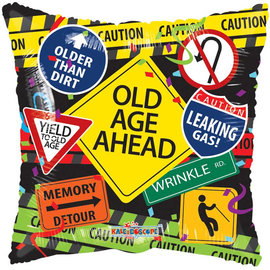 Foil-Old Age Ahead