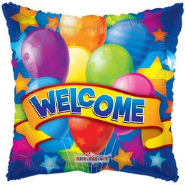 Foil-Welcome/Balloons/Stars