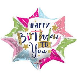 Foil-Happy Birthday/Star