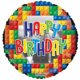 Foil-Happy Birthday/Lego