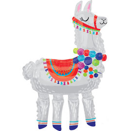 Foil Balloon-Aiwalker-Party Llama