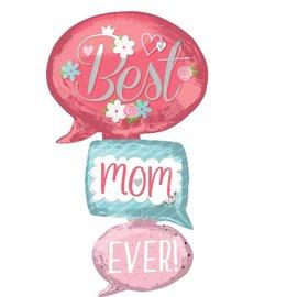 Foil-Multi-Balloon/ Best Mom Ever