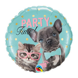 Foil-Cat and Dog/ Party Time