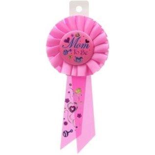 Award Ribbon-Mom to be/Pink