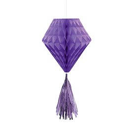 Hanging Decoration-Mini Honeycombs- Purple