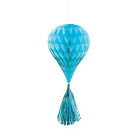 Hanging Decoration-Mini Honeycombs- Caribbean Teal