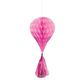 Hanging Decoration-Mini Honeycombs- Hot Pink