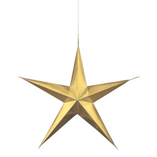 Hanging Decorations- Gold