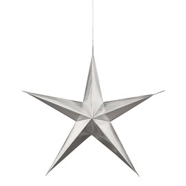 Hanging Decorations-Silver Stars