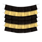 Decorating Backdrop-Black and Gold