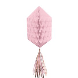 Hanging Decoration-Mini Honeycombs- Blush Pink