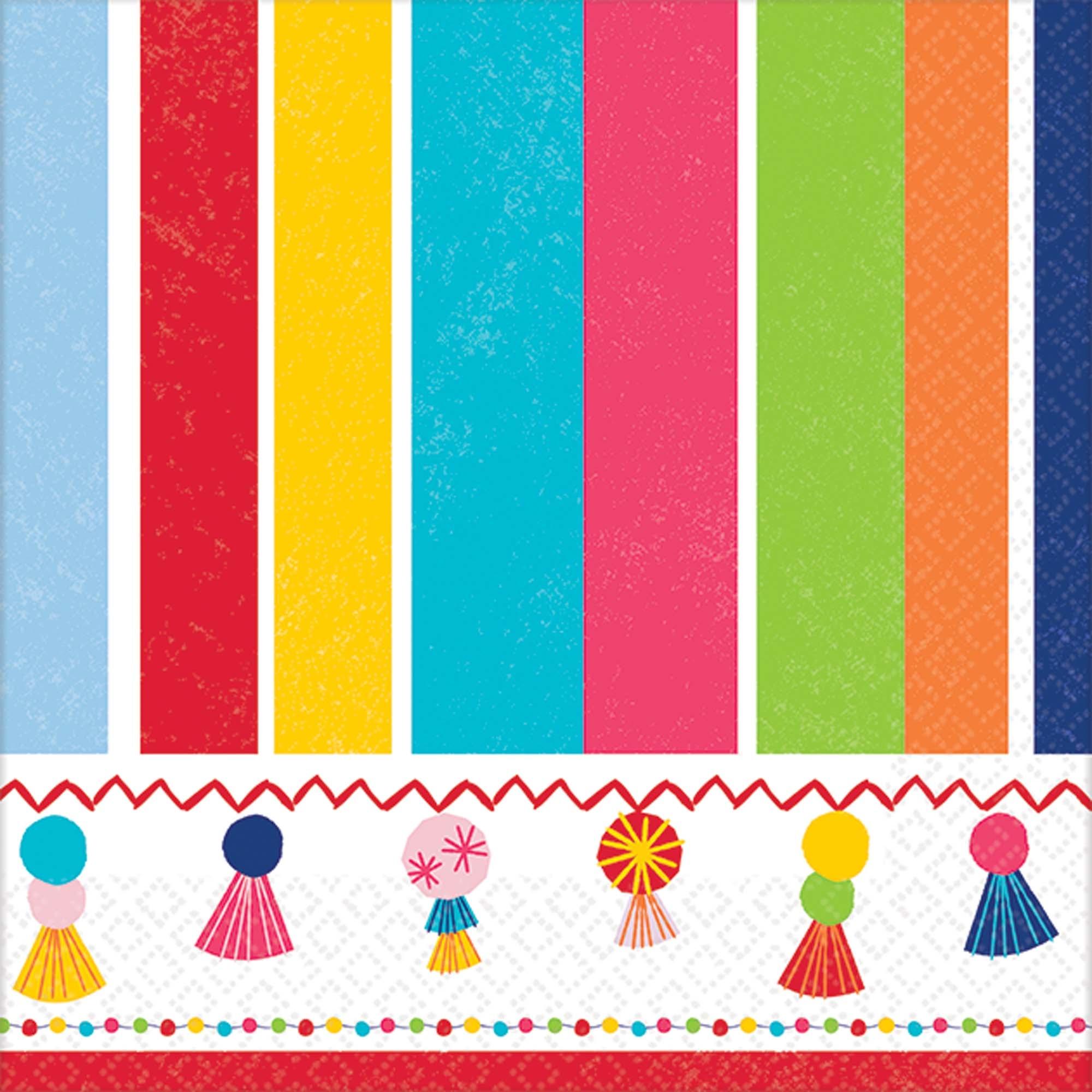 Bverage Napkins-Fiesta Time-16-2ply