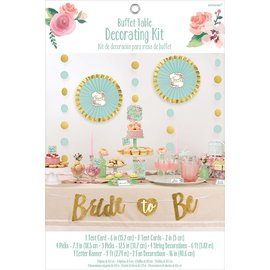 Buffet Table Decorating Kit- Mint To Be