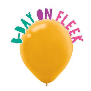 Balloon Kit- Young & Fabulous- 12""