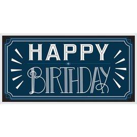 Birthday Banner- Happy Birthday Man- 5ft